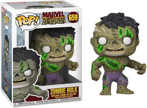 Pop! Marvel Zombies Hulk #659 Vinyl Figure