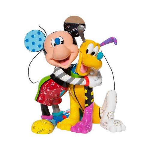Disney Micky And Pluto Statue