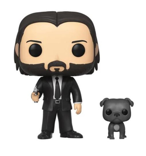Pop! John Wick w/ Dog #580 Vinyl Figure