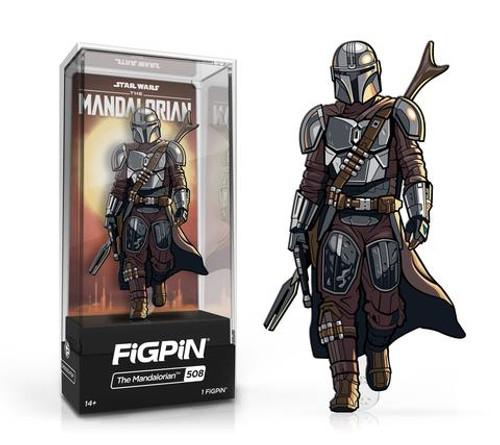 The Mandalorian FiGPiN #508 Enamel Pin