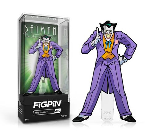 Batman The Animated Series The Joker FiGPiN #480 Enamel Pin