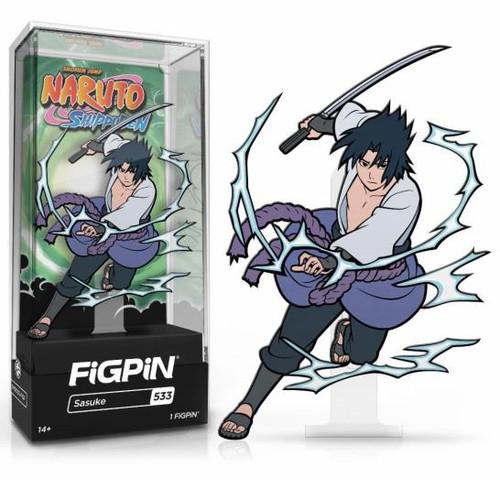 Naruto Shippuden Sasuke FiGPiN #533 Enamel Pin