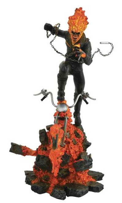 Ghost Rider Milestones Limited Edition Diamond Select Statue