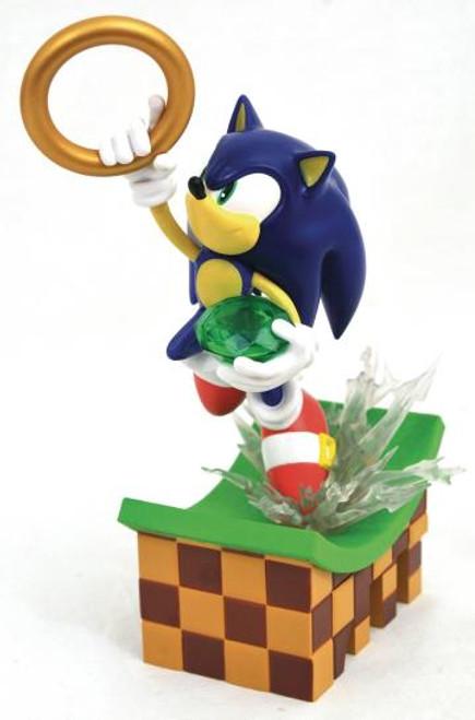 Sonic The Hedgehog Gallery Diamond Select Statue
