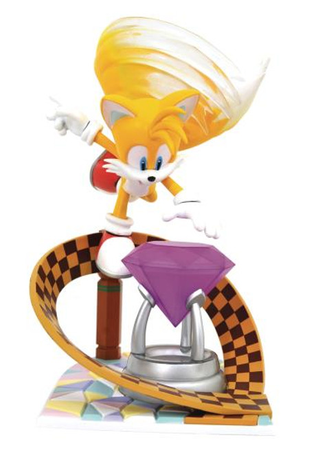 Sonic The Hedgehog Tails Gallery Diamond Select Statue