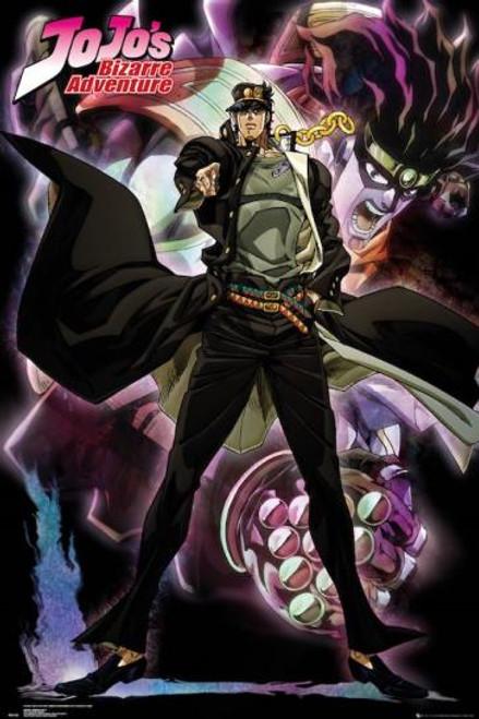 JoJo's Bizarre Adventure Jotaro Anime Poster