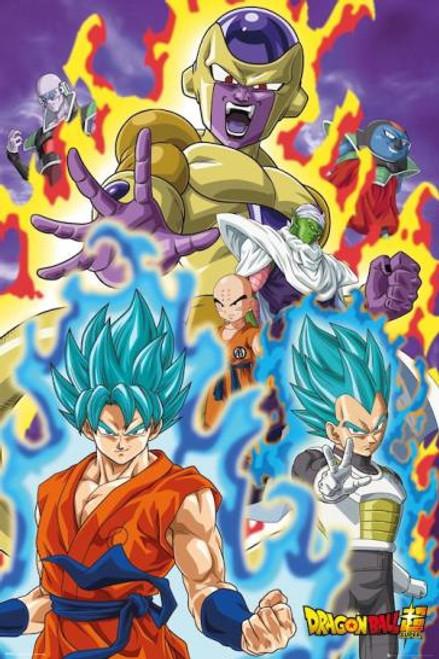 Dragon Ball Super God Poster