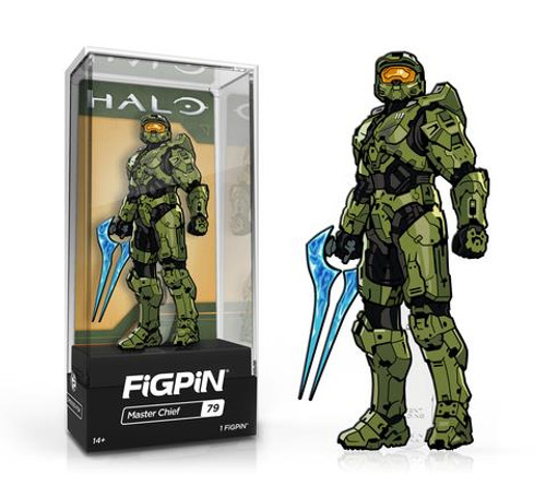 Halo Master Chief w/ Energy Blade FiGPiN #79 Enamel Pin