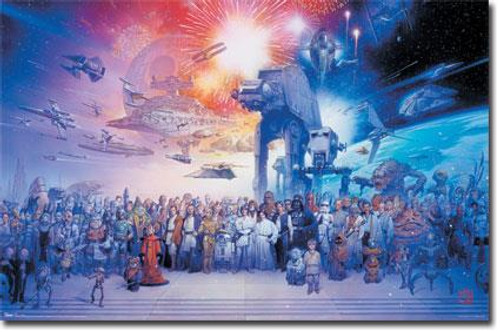 Star Wars Galaxy Cast Poster