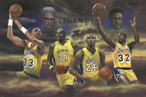 Lakers Legend Poster