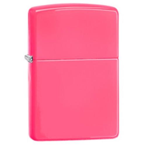 Neon Pink Zippo
