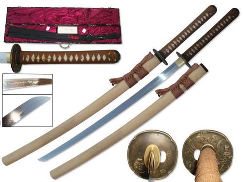 1095 Hand Forged Samurai Sword (Hira Zukuri Blade)