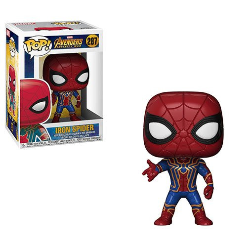 Pop! Avengers: Infinity War Iron Spider #287 Vinyl Figure