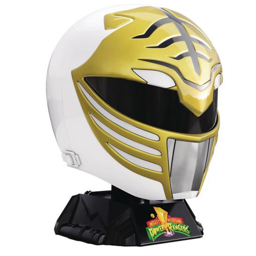 "HELMET - WHITE RANGER ""POWER RANGERS"" LIGHTNING COLLECTION"
