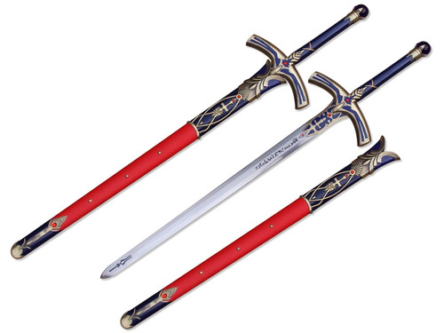 Fate Stay Night Anime Fantasy Sword (Gold/Blue) [Full Size]