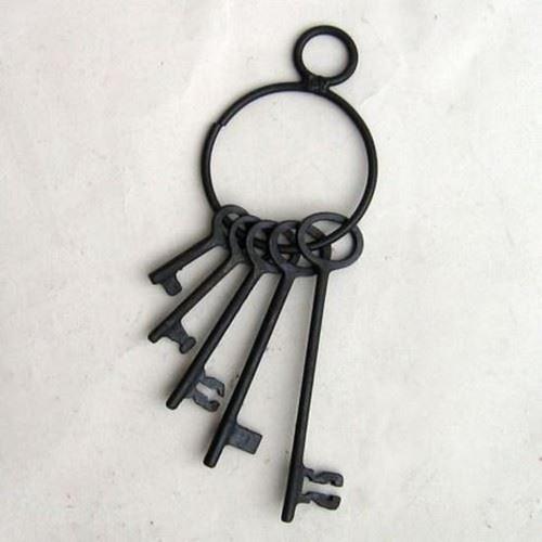 Iron Jailhouse Pirate Key Set