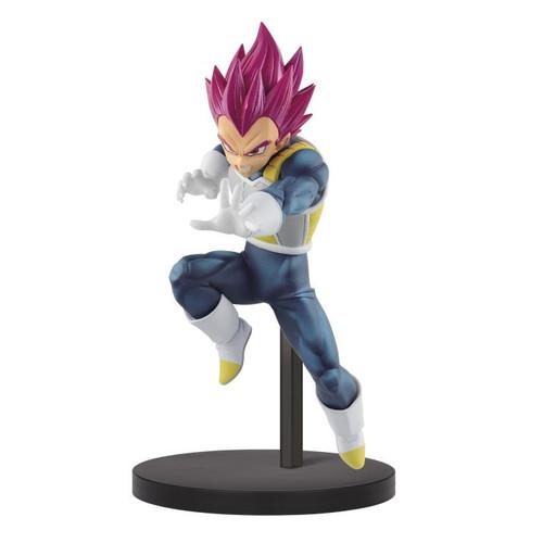 Dragon Ball Super Vegeta Super Saiyan God Banpresto Statue