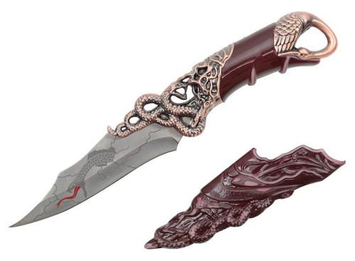 """Snake & Crane Fantasy Dagger 10"""""""