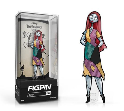 Nightmare Before Christmas Sally FiGPiN #546 Enamel Pin