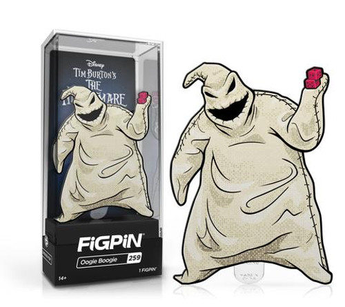 Nightmare Before Christmas Oogie Boogie FiGPiN #259 Enamel Pin