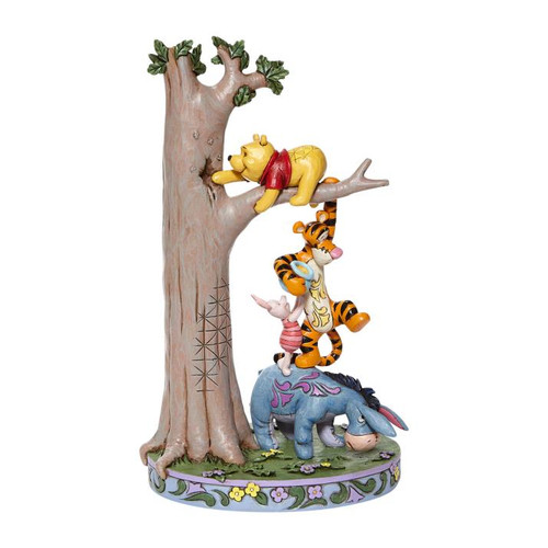 Disney Tree with Pooh and Friends Enesco Statue
