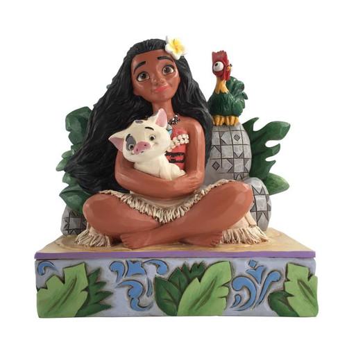 Disney Moana w/ Pua and Hei Hei Enesco Statue