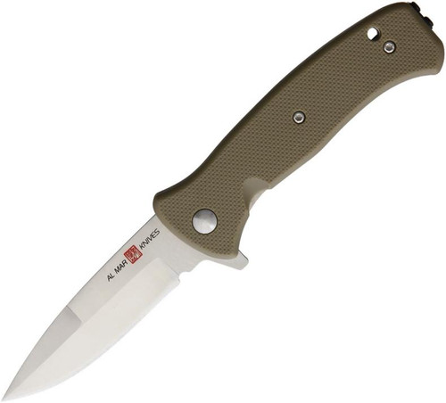 Mini SERE 2020 Linerlock Coyote Tan FRN A/O Al Mar