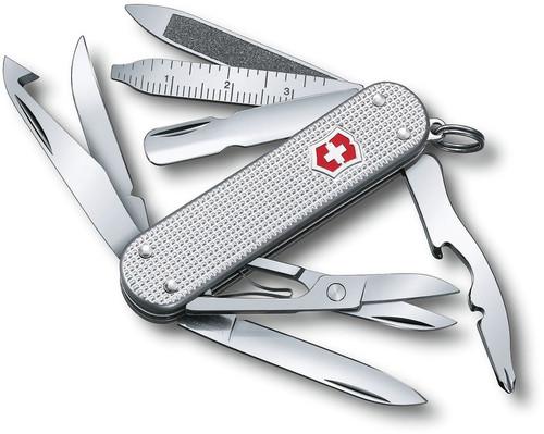 Victorinox Mini Champ Silver Alox [18 Tools] VN0638126X2