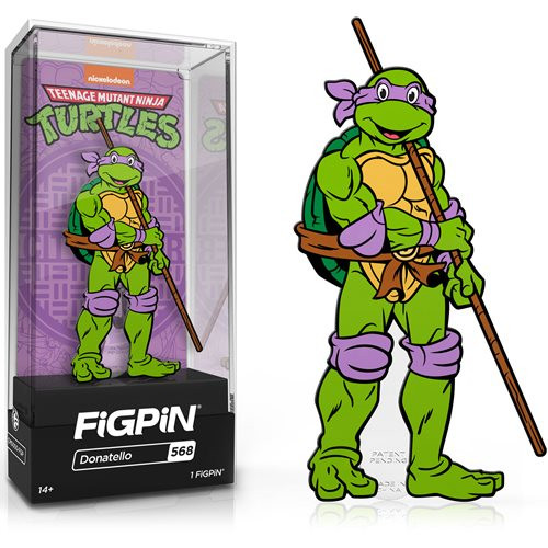 Teenage Mutant Ninja Turtles Donatello FiGPiN #568 Enamel Pin