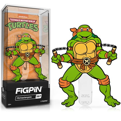 Teenage Mutant Ninja Turtles Michelangelo FiGPiN #567 Enamel Pin