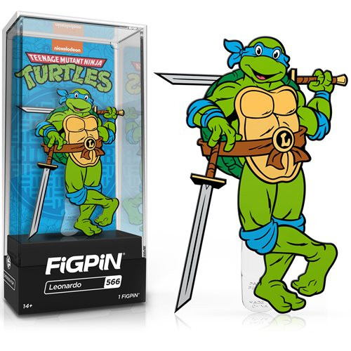 Teenage Mutant Ninja Turtles Leonardo FiGPiN #566 Enamel Pin
