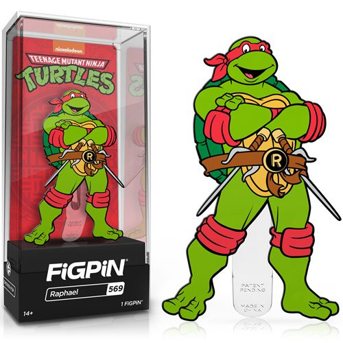 Teenage Mutant Ninja Turtles Raphael FiGPiN #569 Enamel Pin