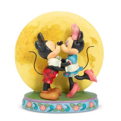Mickey & Minnie Moon Enesco Statue