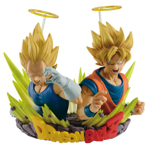 Dragon Ball Z Goku & Vegeta Vol. 2 Banpresto Statue