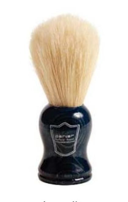 Parker - Blue Wood Handle Boar Bristle (Shaving Brush)