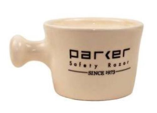 Parker - Ivory Stoneware Apothecary (Shave Mug)