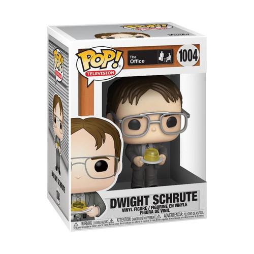 Pop! The Office Dwight w/ Gelatin #1004 Vinyl Figure