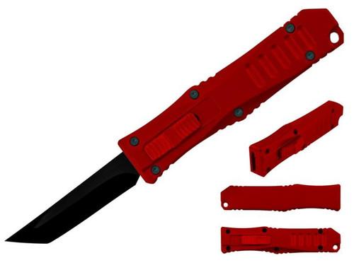 Mini OTF Pocket Knife (RD/TANTO)