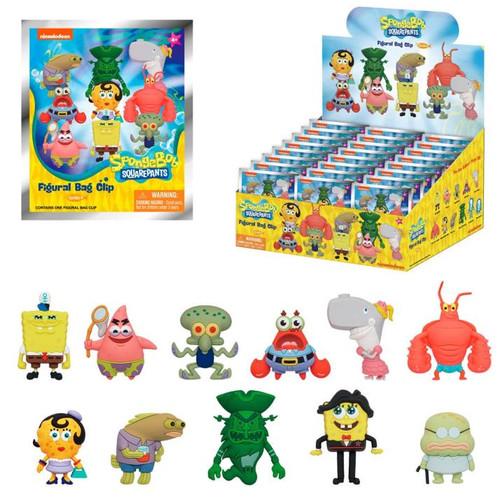 Spongebob Squarepants Series 4 3D Foam Bag Clip Random Blind Bag