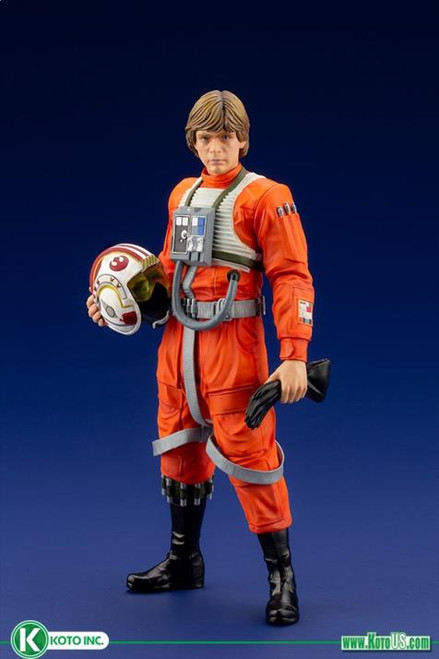 Star Wars: A New Hope Luke Skywalker (X-Wing Pilot) ArtFX+ Statue