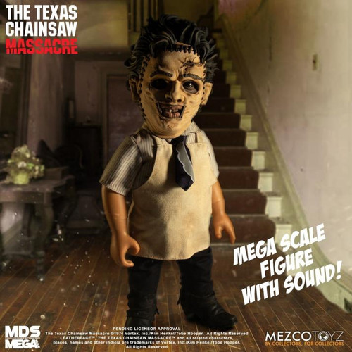 "Doll - Leatherface w/ Sound (1974) ""The Texas Chainsaw Massacre"" 15"""