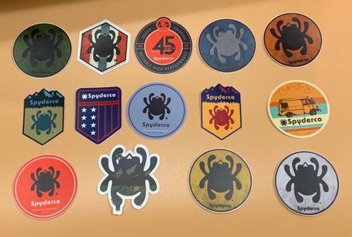 Spyderco Sticker (1 Mystery Sticker)