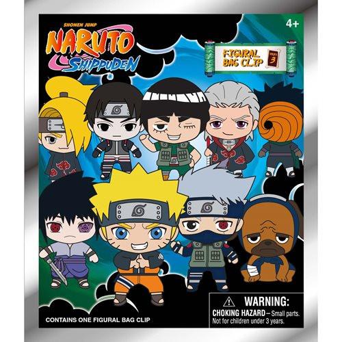 Naruto Series 3 3D Foam Bag Clip Random Blind Bag