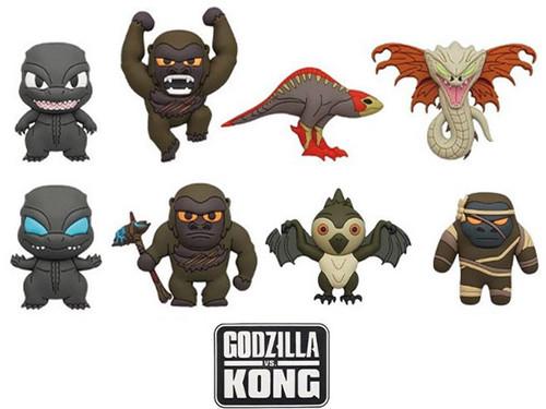 Godzilla vs Kong 3D Foam Bag Clip Random Blind Bag