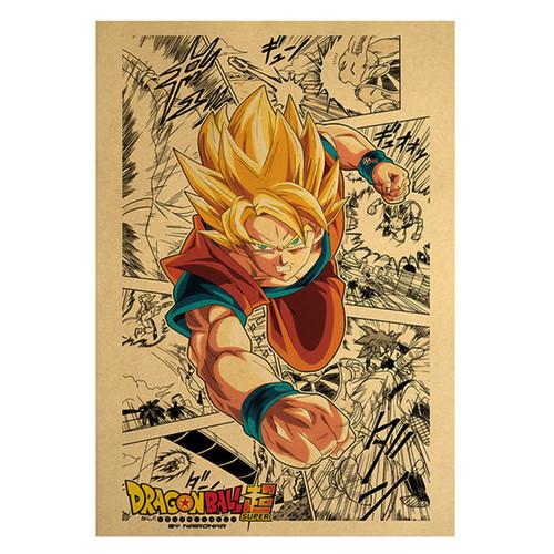 Print - Super Saiyan Goku Manga (Dragon Ball Super Anime)
