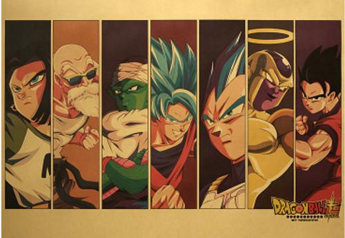 Print - DBZ Panel (Dragon Ball Super Anime)