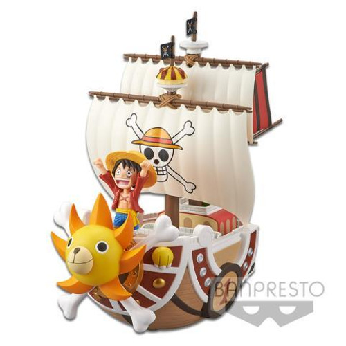 Figure Anime - Luffy Ship One Piece Mega World Collectable Figure Special
