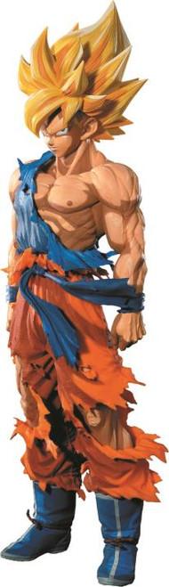 Figure Anime - Goku Super Saiyan Dragon Ball Z - Super Master Stars Piece the Son Goku - Manga Dimensions