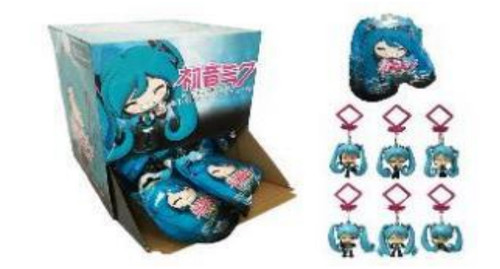 Blind Bag - Hatsune Miku (Backpack Hangers) Mystery Pack [1 Random Bag]
