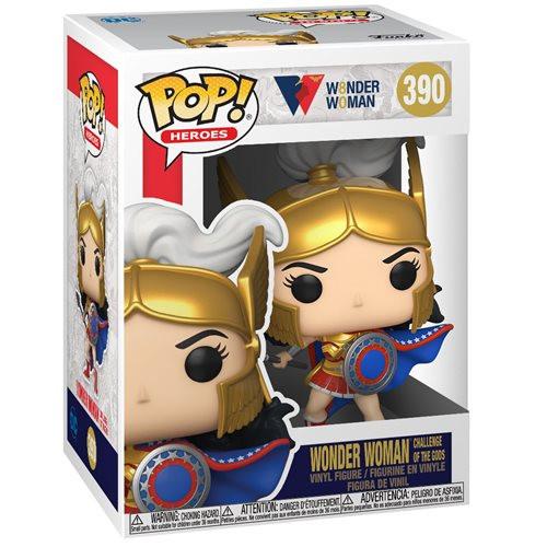"Funko POP - Wonder Woman (Challenge Of The Gods) ""80th Anniversary"" [390]"